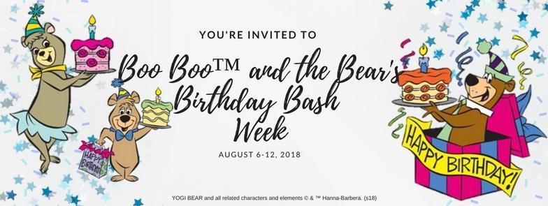 Boo Boo™ and the Bear's Birthday Bash Week - Whispering